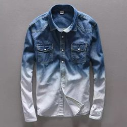 Denim Casual Shirt for Men