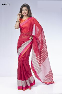 Cotton Tat Saree-DS-171