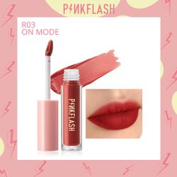 L01 – PINKFLASH Melting Matte Waterproof Lipcream - R03 On Mode