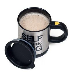 Automatic Self Stirring Coffee Milk Mixing Mug Stainless Steel Thermal Cup Electric Smart Cup