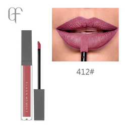 Flash Moment Matte Bright pink nude color longlasting lipstick #412