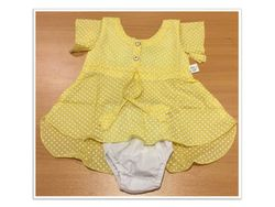 Summer Dress For Baby Girl - 0 to 6 Months