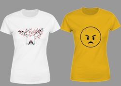 Women's Half Sleeve Trendy T-shirt - Combo - 3