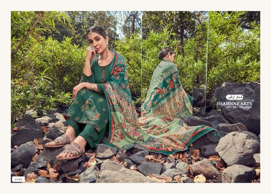 Panihari Vol 4 by Shahnaz Arts Jam Cotton Summer Wear PG05 -TRDX