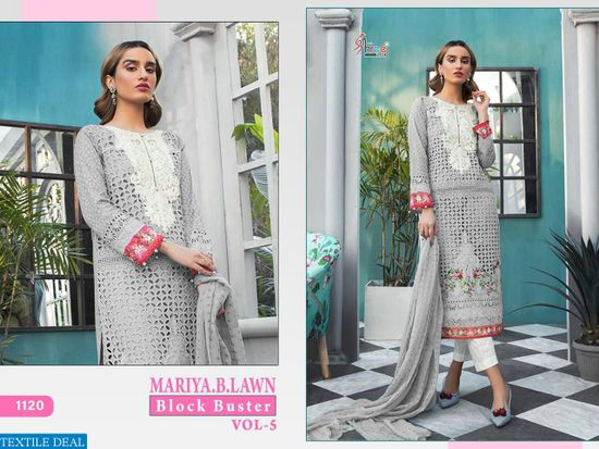 MARIYA B LAWN BLOCK BUSTER VOL 5 - D.No.1120