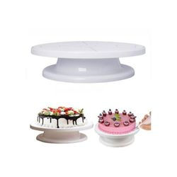 Cake Decorating Turn Table 28cm - White