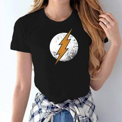 Female Casual T-shirt - Black - Flash - M