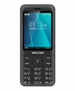 Walton Feature Phone MH20, Black