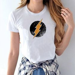 Female Casual T-shirt - White - Flash - M