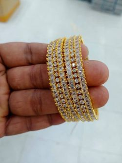 Indian Diamond Cut Bangle