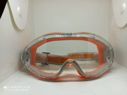 COVID-19 Premium Quality Safety Goggles - Orange